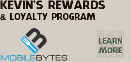 Kevin's Rewards & loyalty program